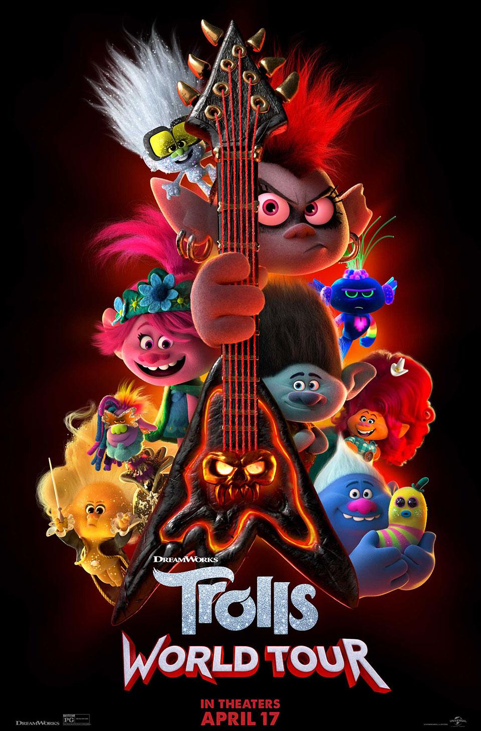 Trolls: World Tour- bộ phim thí điểm phương thức phát hành song song