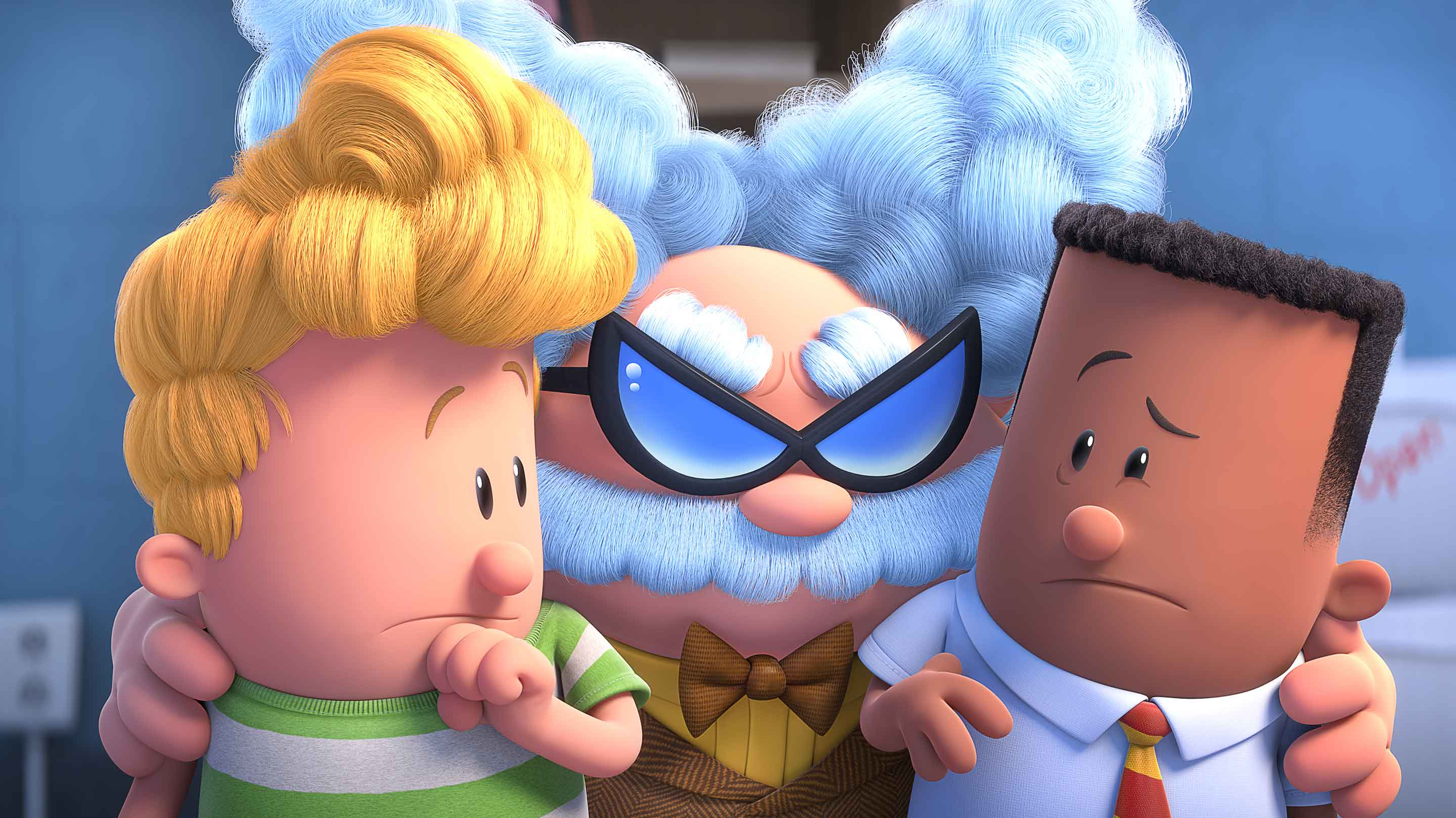 Captain Underpants The First Epic Movie Official Site Dreamworks