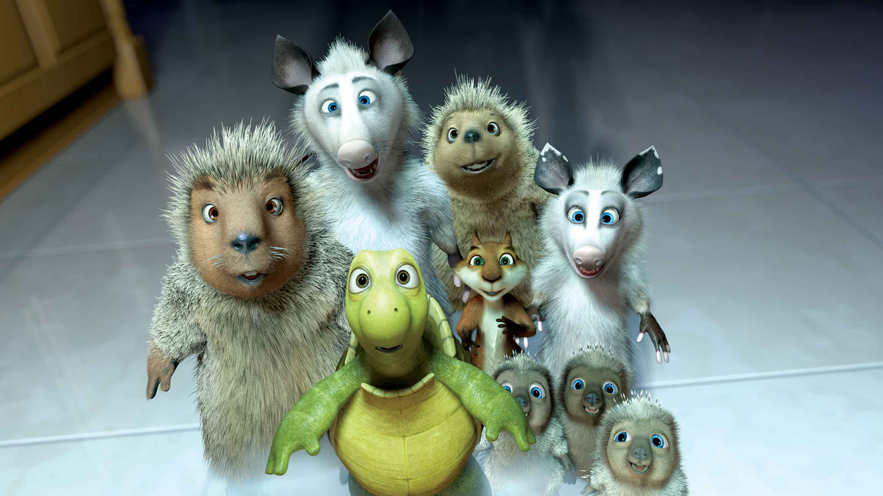 Over The Hedge Official Site Dreamworks