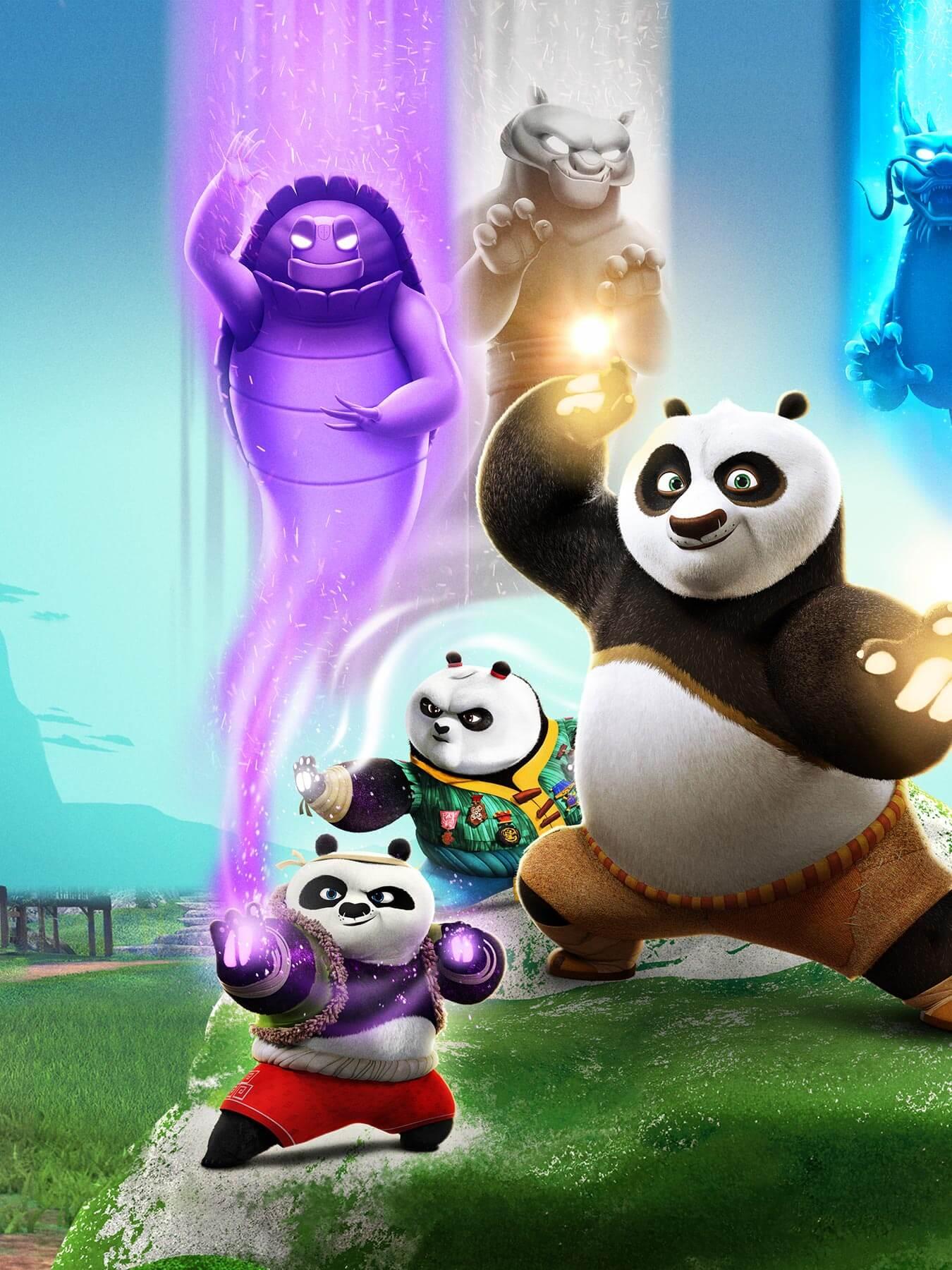 Kung Fu Panda The Paws Of Destiny Tv Shows Dreamworks